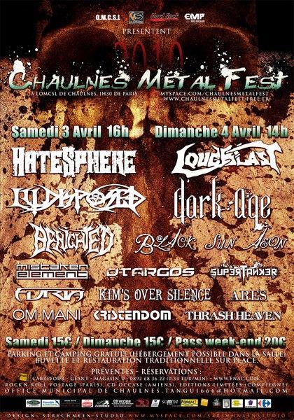 3/4.04.2010 - Chaulnes Metal Fest AfficheMD2010