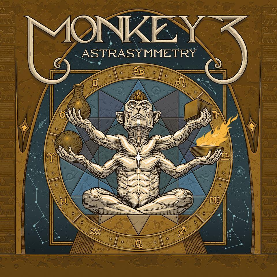"""MONKEY3 (Psychedelic Stoner Rock - Suisse) sortira son nouvel album intitulé """"Astra Symmetry"""" le 2 septembre chez Napalm Records."""